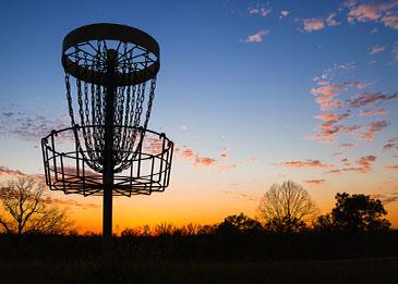 aktiviteetti frisbeegolf