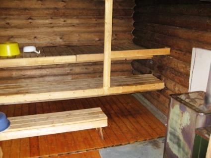 Ahveninen sauna sisa